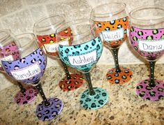 http://www.etsy.com/listing/79722563/hand-painted-wine-glass-cheetah