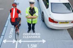West Midlands Police target drivers too close to cyclists