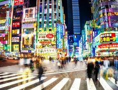 Busy Day in Shinjuku Optical Illusion Wallpaper, Lake Wakatipu, Hdr Photography, Camera Reviews, Motivate Yourself, Optical Illusions, Nature Photos, Daily Inspiration, Places To Visit