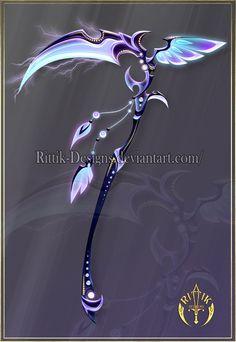 Thunderbird, scythe adopt (OPEN) by Rittik-Designs on DeviantArt