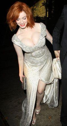 Christina Hendricks and her fabulous bosom