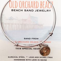 Old Orchard Beach Sand Jewelry - Maine
