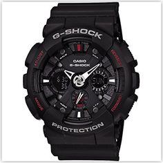 Casio G Shock Analog Digital Black Watch | Watches $100 - $200 : 0 - 100 Best Watch Black Casio Dial INDIA Men's Rs.7200 - Rs.7400 Shoes Watch