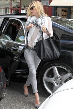 Kate Moss' street style.