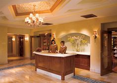 The glorious spa for our Oct 1-4 Women's Golf Fitness Retreat at the Fairmont Grand del Mar.   You will have free time after rounds of golf and before golf fitness classes with Meagan to enjoy a service. Aaahhh.   To reserve your retreat with us visit www.golffitnessretreats.com