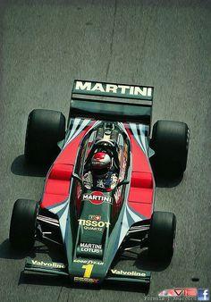 Mario Andretti in the Lotus 80