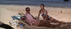 Hottest bond girl of all time: Domino in Thunderball.
