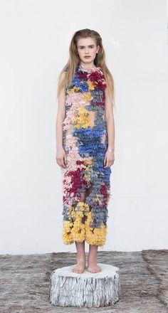 Xu Zhi AW15 Collection http://www.xuzhi.co.uk/ #XuZhi #Designer #LondonFashion #Handmade #Textile #Fashionweek