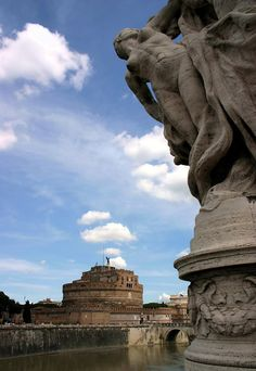 angel guarding castel sant'angelo by tulipan7, province of Rome Lazio