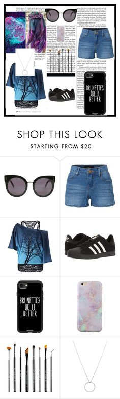 """""""Untitled Template"""" by thatonesassymockingjay on Polyvore featuring STELLA McCARTNEY, LE3NO, adidas, Casetify, Sigma, Roberto Coin and Nicki Minaj"""