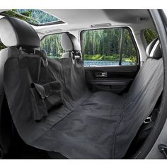 BarksBar Original Pet Seat Cover for Cars - Black, WaterProof and Hammock Convertible >>> Review more details here (This is an amazon affiliate link. I may earn commission from it)