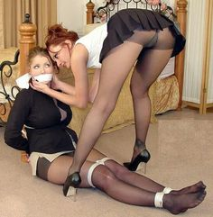 Regret, mature pantyhose tied up thank you