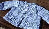 Lorraine Major's Quick Baby Sweater - also known as the 5 Hour Baby Sweater. Perfect for when there's a need for speed.