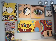 hippie painting ideas 725853664932210339 - The art wall # the wall – – Source by legermond Cute Canvas Paintings, Easy Canvas Art, Small Canvas Art, Mini Canvas Art, Hippie Painting, Trippy Painting, Hippie Drawing, Painting Abstract, Trippy Drawings