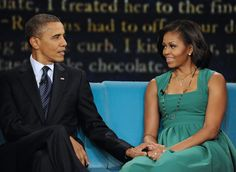 THE VIEW - President Barack Obama, the 44th President of the United States, and First Lady Michelle Obama make their first joint appearance on The View. (Photo by Donna Svennevik/ABC via Getty Images)  via @AOL_Lifestyle Read more: https://www.aol.com/article/news/2017/02/11/harvard-professor-who-taught-obamas-michelle-should-have-been-president/21712038/?a_dgi=aolshare_pinterest#fullscreen