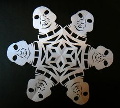 Doctor Who snowflakes: Slitheen