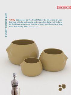fertility ceramic bowl Designer: Hamed Kohan