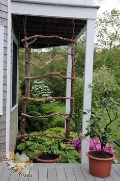 32 ingénieuses façons de créer votre treillis de jardin avec du matériel que vous avez sous la main - Trucs et Astuces - Trucs et Bricolages