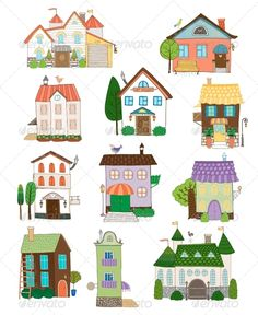 Assorted Houses Collection