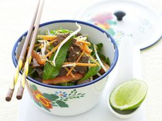 Fresh and crunchy Vietnamese marinated beef salad from Australian Women's Weekly.