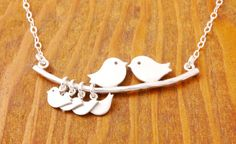 Mom Necklace  mom of 4 kids mother necklace love by MegusAttic, $36.00