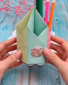 Diy Crafts Hacks, Diy Crafts For Gifts, Diy Home Crafts, Creative Crafts, Cool Paper Crafts, Paper Crafts Origami, Diy Paper, Fun Crafts, Mouse Crafts