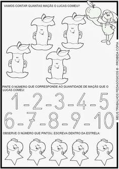Meus Trabalhos Pedagógicos ®: Atividades Prontas -Ed.Infantil - Matematica