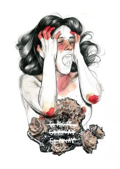 more paula Beautiful Illustrations by Paula Bonet Dark Art Drawings, Amazing Drawings, Paula Bonet, Ghost In The Machine, Sad Art, Human Art, Picture Design, Art Inspo, Illustration Art