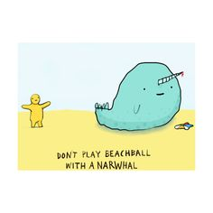 look at the narwhal... its a funny narwhal. haha. ❤ liked on Polyvore featuring funny, doodles, pictures, drawings and accents