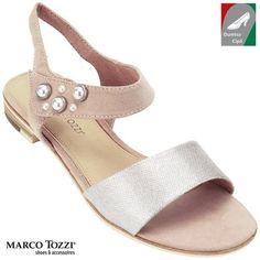 Marco Tozzi női szandál 2-28100-20 532 rózsaszín metál kombi afe41baa9e