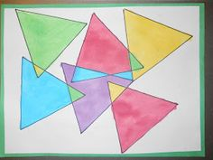 Mrs. T's First Grade Class: Triangles within Triangles
