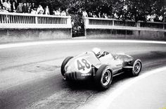 Phil Hill, Monaco '59, Ferrari Dino 246, 4th in the race won by Brabham, Cooper T51 Climax (LAT)...