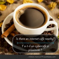 Get a coffee while you plan your next days. Don't forget this phrase in case you need some directions.