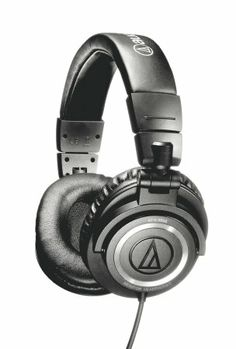 Amazon.com: Audio-Technica ATH-M50 Professional Studio Monitor Headphones with Coiled Cable: Musical Instruments