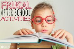 Frugal After School Activities for Kids