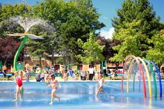 Fun for kids on hot summer days in Le Jardin d'Acclimatation