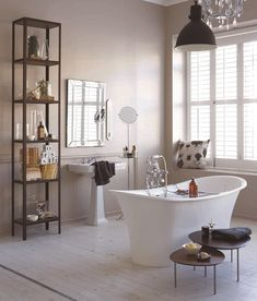 Bathroom walls painted with Plascon Kitchens & Bathrooms - Daphne's Dream Image Source Plascon Spaces Magazine Plascon Paint Colours, Interior Paint Colors, Dream Bathrooms, Beautiful Bathrooms, Modern Classic Bathrooms, Victorian Bathroom, House Rooms, Living Rooms, Bedroom Colors