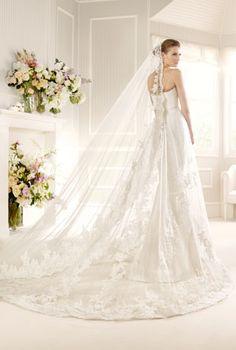 Love the Spanish Veil!