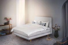 Letto Hastens limited edition: 50 sfumature di grigio, beige e bianco Interior Design Blogs, Master Bedroom, Design Inspiration, Contemporary, House, Furniture, Bedrooms, Blackpink Funny, Modern Interiors