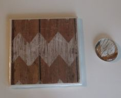 Check out this item in my Etsy shop https://www.etsy.com/listing/507886177/rustic-chevron-coaster-magnet-set