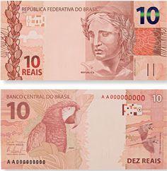 10 reais cédula