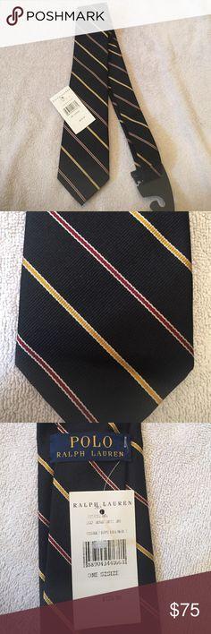 Ralph Lauren Polo 100% silk tie NWT 100% silk. NWT Polo by Ralph Lauren Accessories Ties
