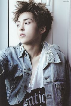 Kim Minseok or Xiumin of EXO.