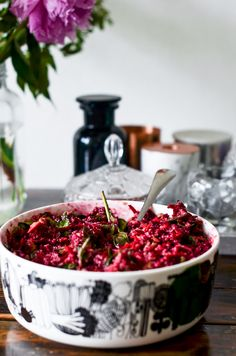 Punajuurisalaatti Salads, Food, Essen, Meals, Yemek, Salad, Eten, Chopped Salads