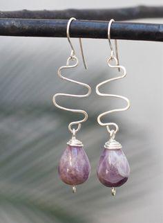 Silver earrings Sterling silver earrings by FlowerOfParadise #integritytt