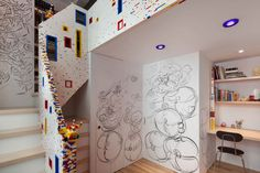 Architizer Blog » A New York Loft That Prizes LEGOs As Much As Mies's Barcelona Chair