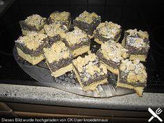 Schlesischer Mohnkuchen, ein tolles Rezept aus der Kategorie Kuchen. Bewertungen: 25. Durchschnitt: Ø 4,5.