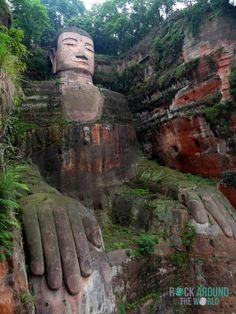 Leshan Giant Buddha – Großer Buddha von Leshan, China