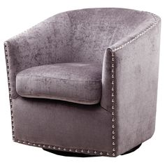 Norwalk Swoop Arm Swivel Rocker Chair Cream - Threshold™ : Target ...
