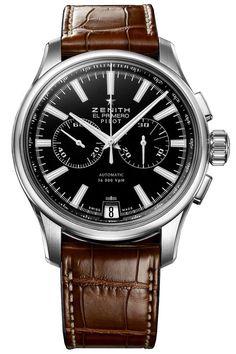 Zenith Chronograph Steel Watch 03.2117.4002/23.C704 – The Finest Watches